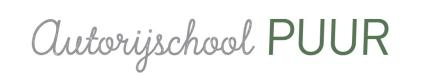Autorijschool Puur Logo